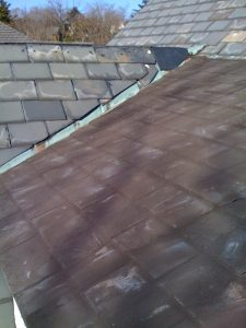 Slate Roof Repair Attempt