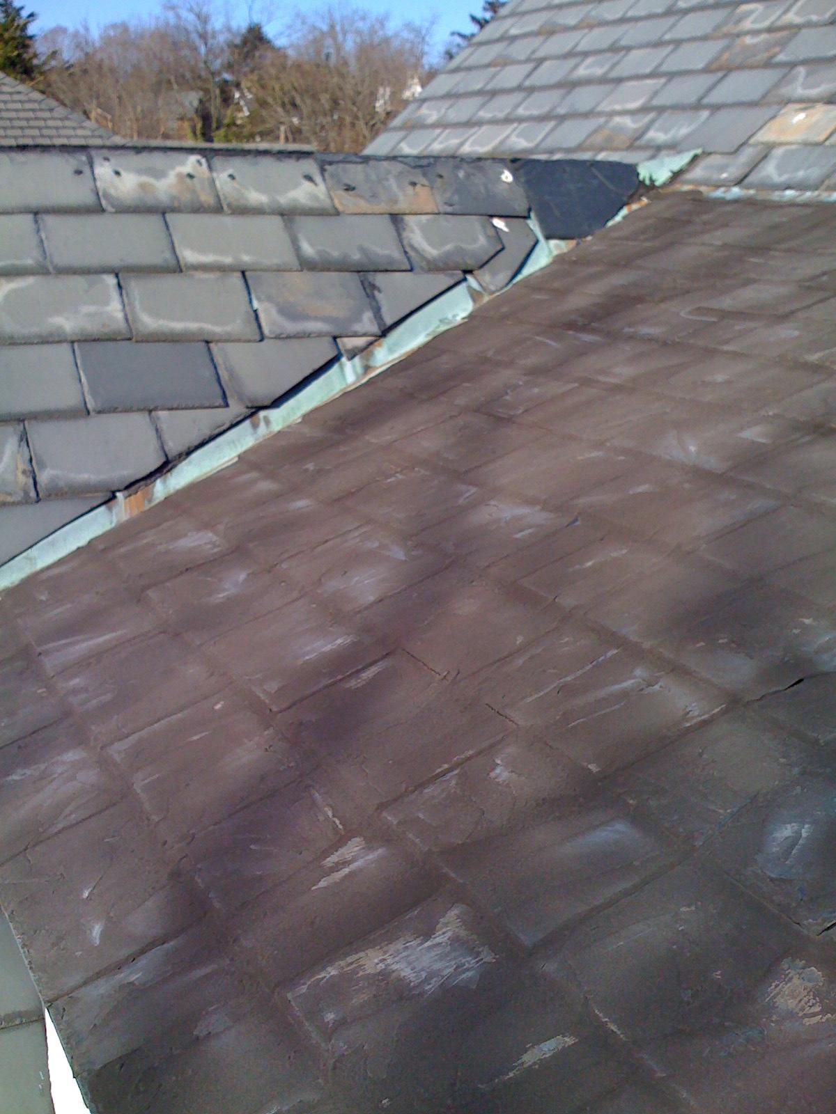 Alexandria VA Slate Roof Repair - Lyons Contracting