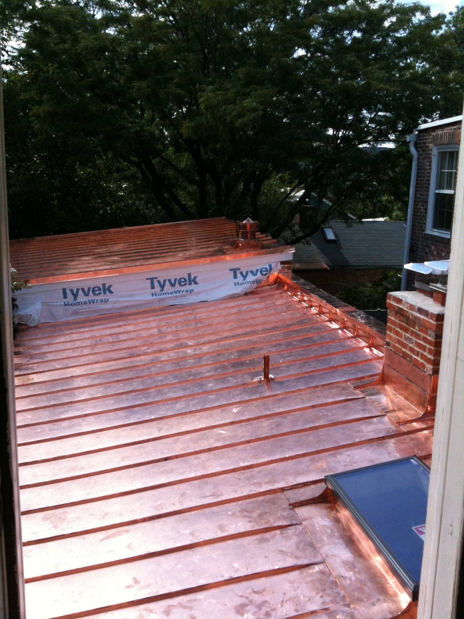 1800 S Old Town Alexandria Townhouse Gets A New Copper