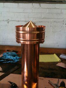 Copper vent