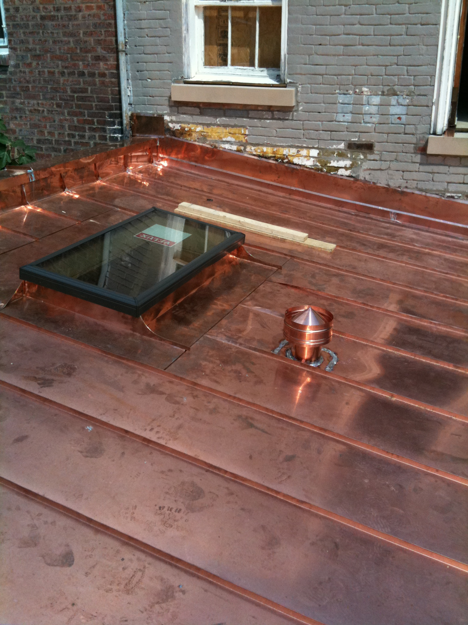 How To Make A Custom Copper Roof Vent Lyons Contracting