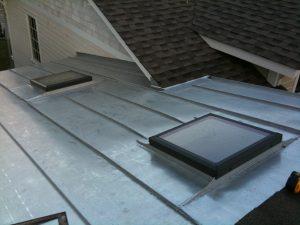 TCSII standing seam roof