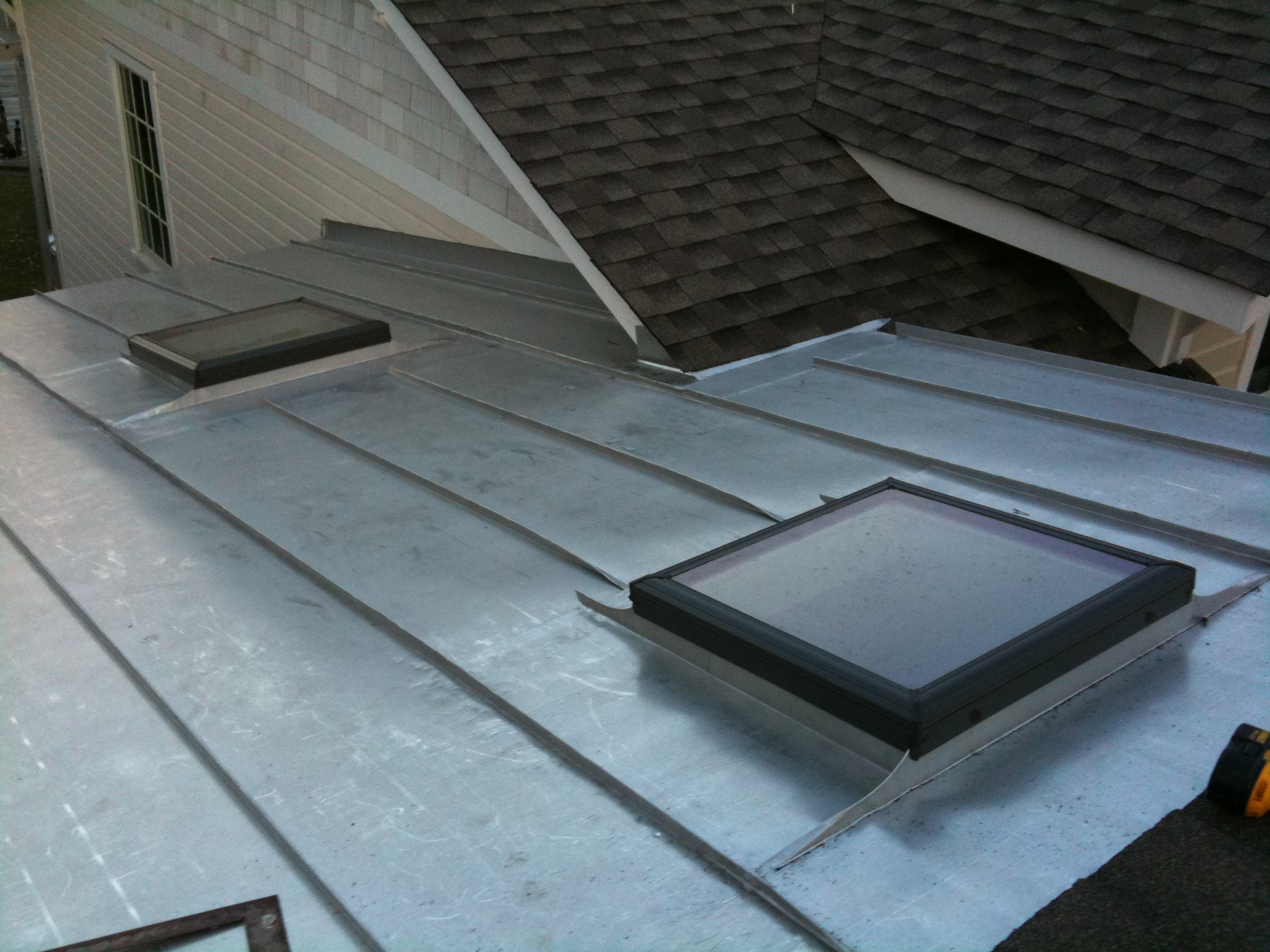 Standing Seam Terne Metal Roof Lyons Contracting