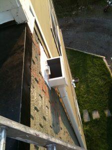 TPO scupper drain
