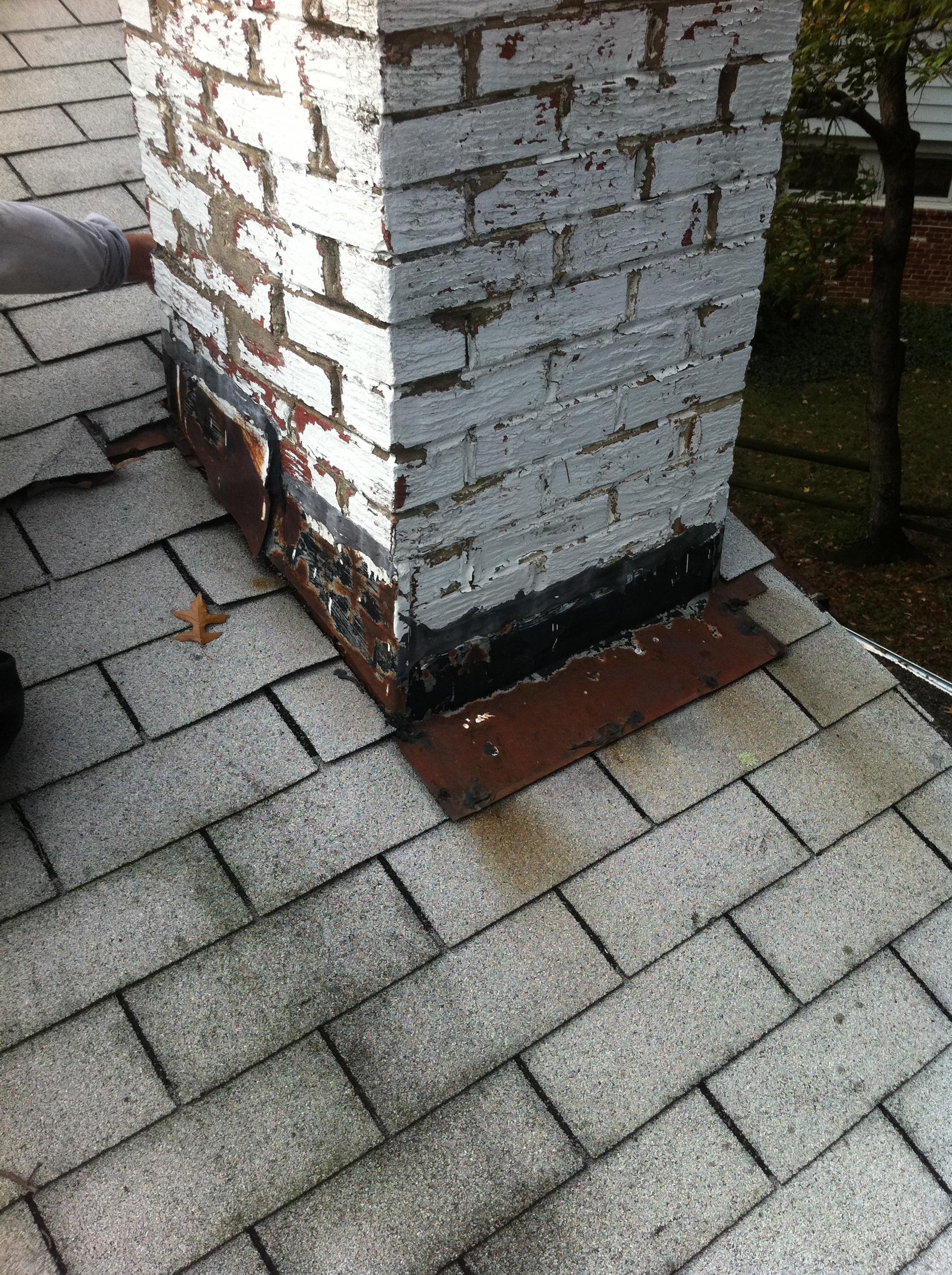 Chimney Flashing Repair Lyons Contracting