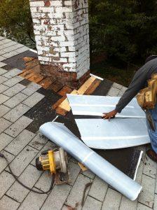 repair of chimney flashing