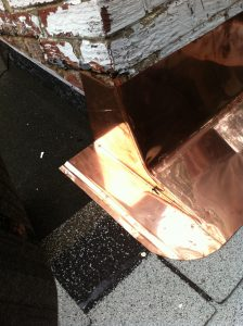 copper apron flashing
