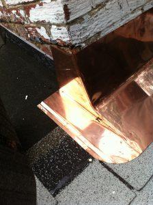 copper apron flashing