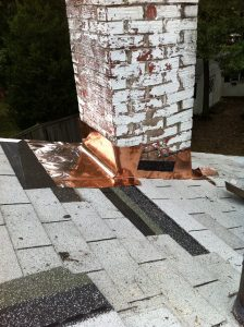 copper chimney flashing