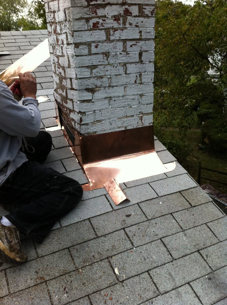 Chimney Flashing Repair Lyons Contracting