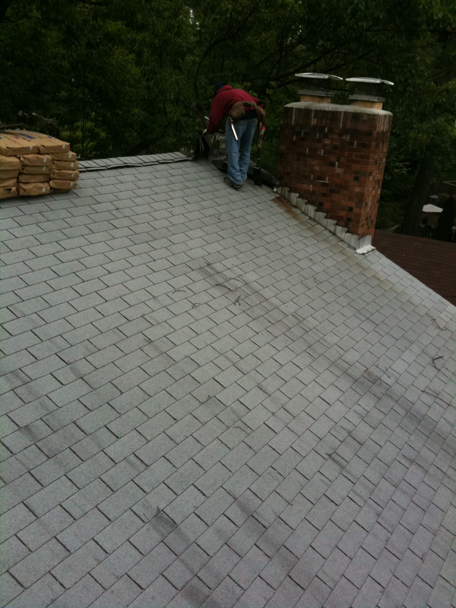New Roof With Ice Dam Protection Lyons Contracting