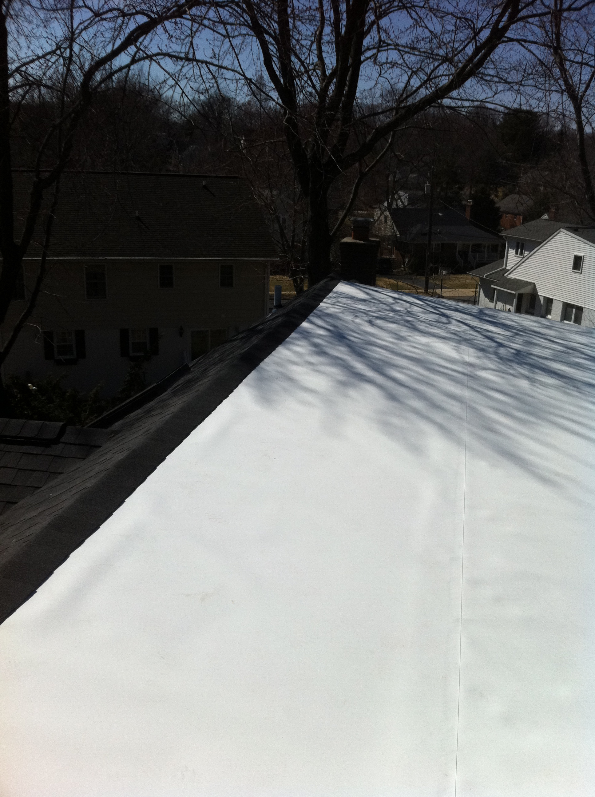 From Metal To Membrane Low Slope Roof Replacement Lyons