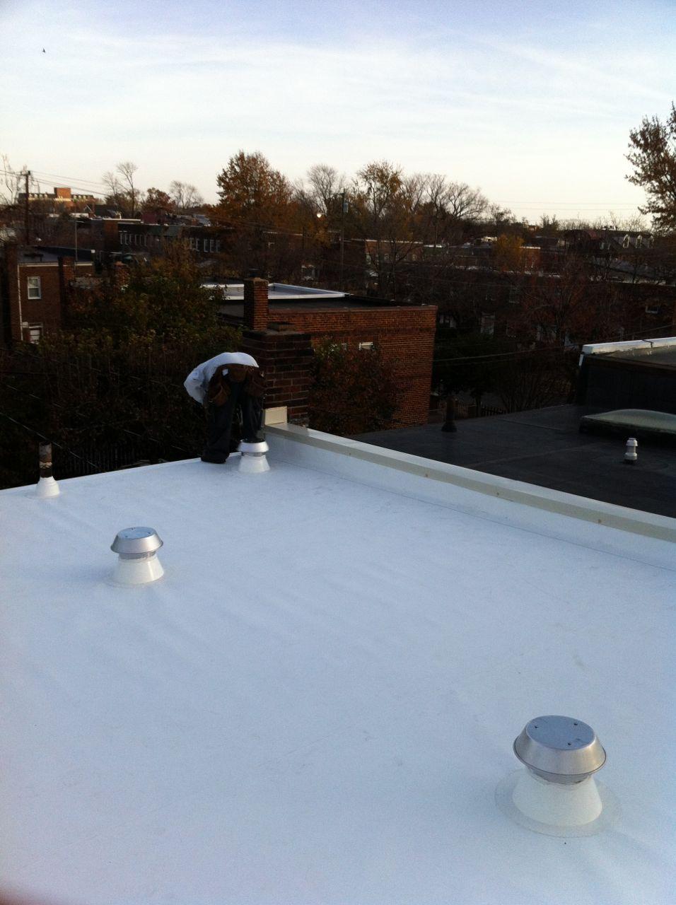 Superb Alexandria Va Row House Roof