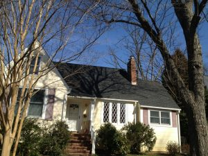 Timberline Charcoal Shingle Roof in Arlington, VA
