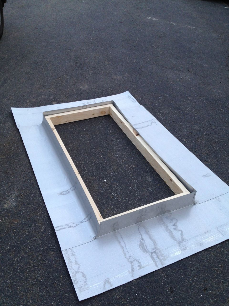 Metal roof skylight flashing kit about roof for Velux cladding kit