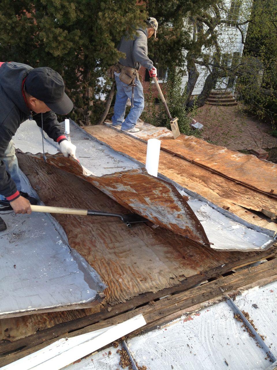 Rusty Metal Roofing