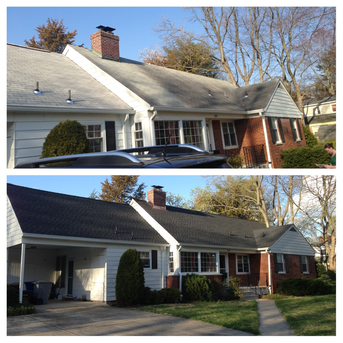 A Roof Replacement In Northern Virginia Lyons Contracting