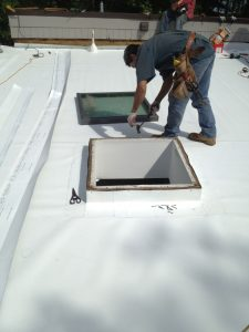 New TPO skylight flashing