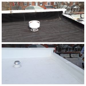 new vent and roof