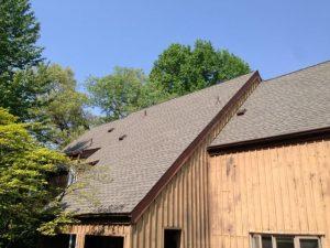 Timberline Weathered Wood shingle roof