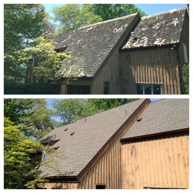 Cedar Shake Roof Replacement With Timberline Shingles