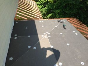 Tapered flat roof insulation