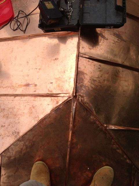 Standing Seam Copper Roof In Alexandria Va Lyons