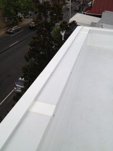 Aluminum coping and cornice